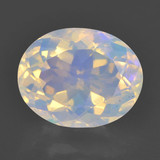 thumb image of 2ct Oval Facet Multicolor Opal (ID: 461738)
