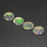 thumb image of 1.4ct Oval Facet Multicolor Opal (ID: 462482)