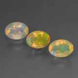 thumb image of 1.4ct Oval Facet Multicolor Opal (ID: 462633)