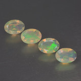 thumb image of 1.6ct Oval Facet Multicolor Opal (ID: 462722)