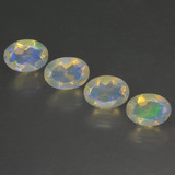 thumb image of 1.7ct Oval Facet Multicolor Opal (ID: 462838)