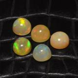 thumb image of 8.4ct Round Cabochon Multicolor Opal (ID: 466386)