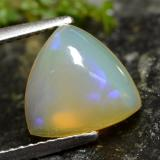 thumb image of 2ct Trillion Cabochon Yellow Opal (ID: 478485)
