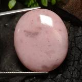 thumb image of 28.9ct Cabujón Óvalo Medium Pink Ópalo (ID: 491981)