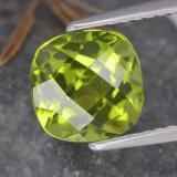 thumb image of 2.5ct Cushion Checkerboard Lively Green Peridot (ID: 322834)