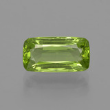 thumb image of 2.5ct Cushion-Cut Lively Green Peridot (ID: 415562)