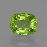 thumb image of 2.4ct Cushion-Cut Lively Green Peridot (ID: 415653)