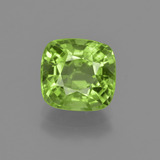 thumb image of 2.7ct Cushion-Cut Lively Green Peridot (ID: 415700)
