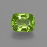 thumb image of 2.3ct Cushion-Cut Lively Green Peridot (ID: 415701)
