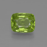 thumb image of 2.5ct Cushion-Cut Lively Green Peridot (ID: 415829)