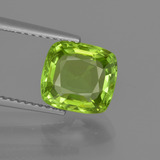 thumb image of 2.8ct Cushion-Cut Lively Green Peridot (ID: 415883)