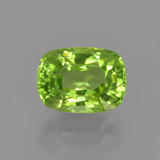 thumb image of 2.1ct Cushion-Cut Lively Green Peridot (ID: 415934)