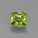 thumb image of 2.1ct Cushion-Cut Lively Green Peridot (ID: 425689)