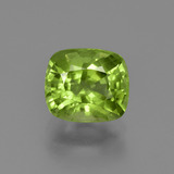 thumb image of 2.5ct Cushion-Cut Lively Green Peridot (ID: 425691)