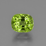 thumb image of 2.5ct Cushion-Cut Lively Green Peridot (ID: 425698)