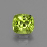 thumb image of 2.5ct Cushion-Cut Lively Green Peridot (ID: 425920)