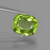 thumb image of 2.2ct Cushion-Cut Lively Green Peridot (ID: 425926)