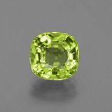 thumb image of 2.2ct Cushion-Cut Lively Green Peridot (ID: 426019)
