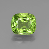 thumb image of 2.8ct Cushion-Cut Lively Green Peridot (ID: 437681)