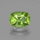 thumb image of 2.4ct Cushion-Cut Lively Green Peridot (ID: 437723)
