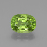 thumb image of 2.7ct Oval Facet Lively Green Peridot (ID: 437726)