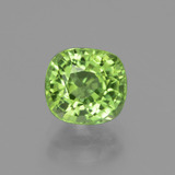 thumb image of 2ct Cushion-Cut Lively Green Peridot (ID: 437798)