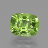 thumb image of 2.4ct Cushion-Cut Lively Green Peridot (ID: 437837)