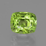 thumb image of 2.1ct Cushion-Cut Lively Green Peridot (ID: 437841)