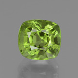 thumb image of 2.4ct Cushion-Cut Lively Green Peridot (ID: 438010)