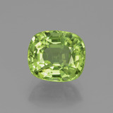 thumb image of 2.4ct Cushion-Cut Lively Green Peridot (ID: 438056)