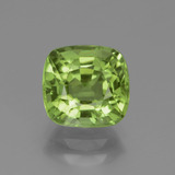 thumb image of 2.4ct Cushion-Cut Lively Green Peridot (ID: 438059)