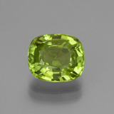 thumb image of 2.7ct Cushion-Cut Lively Green Peridot (ID: 438075)