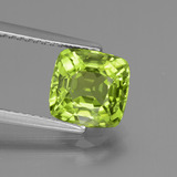 thumb image of 2.4ct Cushion-Cut Lively Green Peridot (ID: 438079)
