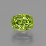 thumb image of 2.5ct Cushion-Cut Lively Green Peridot (ID: 438086)