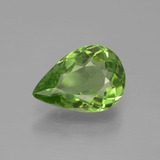 thumb image of 3.2ct Pear Facet Lively Green Peridot (ID: 443111)