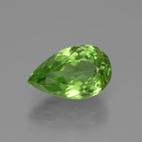 thumb image of 3.6ct Pear Facet Lively Green Peridot (ID: 443114)