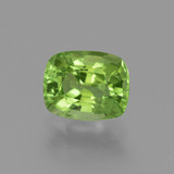 thumb image of 2.5ct Cushion-Cut Lively Green Peridot (ID: 445804)