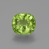 thumb image of 2.6ct Cushion-Cut Lively Green Peridot (ID: 445811)