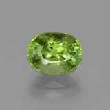 thumb image of 2.6ct Oval Facet Lively Green Peridot (ID: 445813)