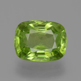 thumb image of 2.8ct Cushion-Cut Lively Green Peridot (ID: 446156)