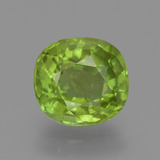thumb image of 2.8ct Oval Facet Lively Green Peridot (ID: 446158)