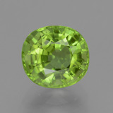 thumb image of 2.9ct Oval Facet Lively Green Peridot (ID: 446160)