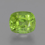 thumb image of 2.6ct Cushion-Cut Lively Green Peridot (ID: 446162)