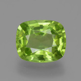 thumb image of 2.5ct Cushion-Cut Lively Green Peridot (ID: 446163)