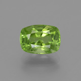 thumb image of 2.4ct Cushion-Cut Lively Green Peridot (ID: 446174)