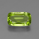 thumb image of 2.6ct Cushion-Cut Lively Green Peridot (ID: 446951)