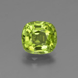 thumb image of 2ct Cushion-Cut Lively Green Peridot (ID: 446952)