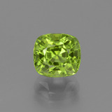 thumb image of 2.1ct Cushion-Cut Lively Green Peridot (ID: 446953)