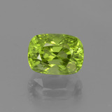 thumb image of 2.5ct Cushion-Cut Lively Green Peridot (ID: 447014)