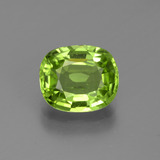 thumb image of 2.1ct Cushion-Cut Lively Green Peridot (ID: 447017)